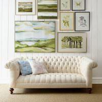 Картины разного размера с изображением растений