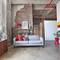 Промышленный дизайн в интерьере жилых помещений