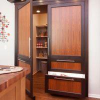 Стильные двери в кладовую комнату