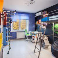 оформление интерьера детской комнаты в космической тематике