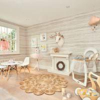 Дизайн гостиной в сельском доме