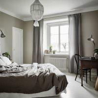 Дизайн спальни в пастельных оттенках