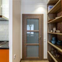Открытый стеллаж для кухонной утвари