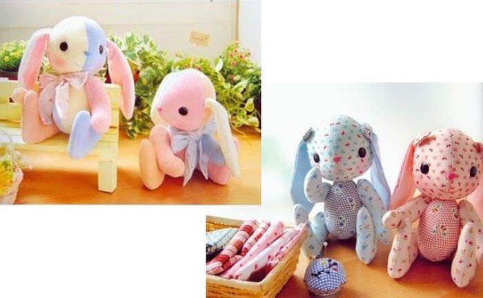 Детские игрушки из ткани своими руками