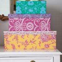 Красивые подарочные коробки своими руками