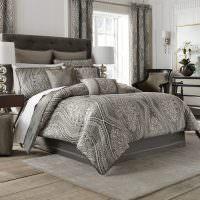 Дизайн современной спальни в серых тонах