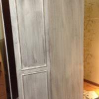 Покраска советского шкафа своими силами