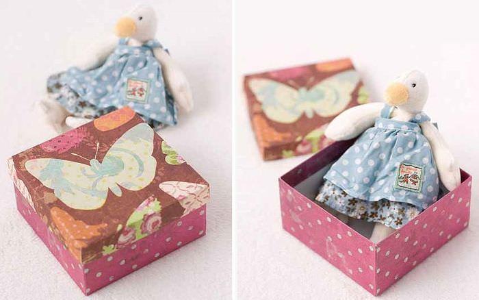 Готовая коробка для детской игрушки
