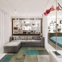Дизайн небольшой гостиной в современном стиле