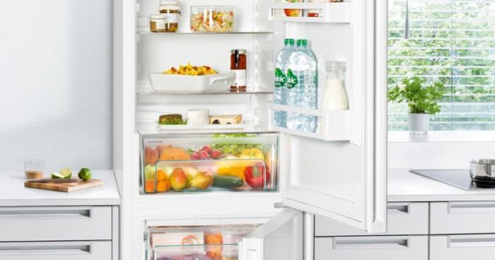 фреш зона в современном холодильнике.