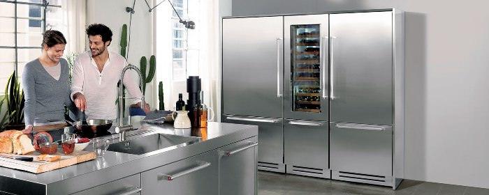Уровень шума холодильника.