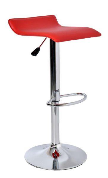 Пластиковые барные стулья лучше размещать на металлическом каркасе