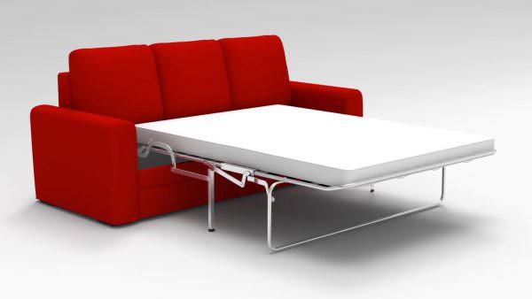 Диван-седафлекс с металлической раздвижной конструкцией
