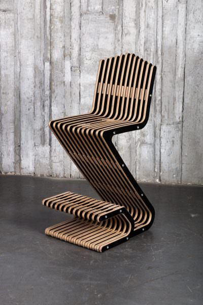 Дизайнерские стулья легко узнать по необычной форме