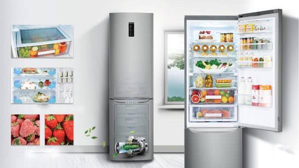 При покупке холодильника, учитывайте, что он шумный и потребляет много энергии