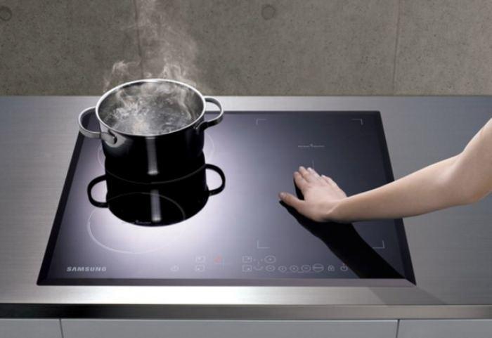 Тип нагрева керамической плиты.