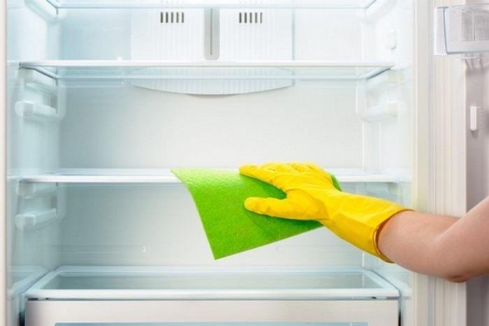 Разморозка холодильника.