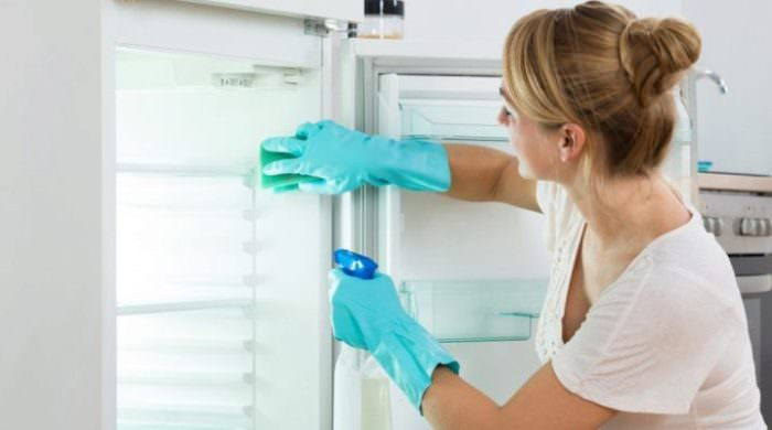 Как мыть новый холодильник.
