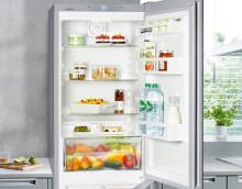 Разморозка современного холодильника.