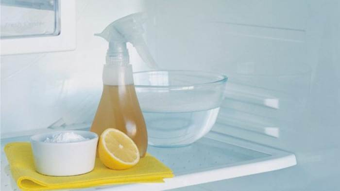 Народные средства для мытья холодильника.