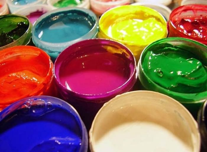 Водоэмульсионная краска для кухни.