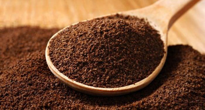 Стакан кофе.