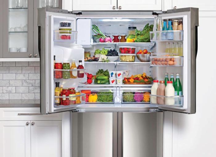 Отключение холодильника.