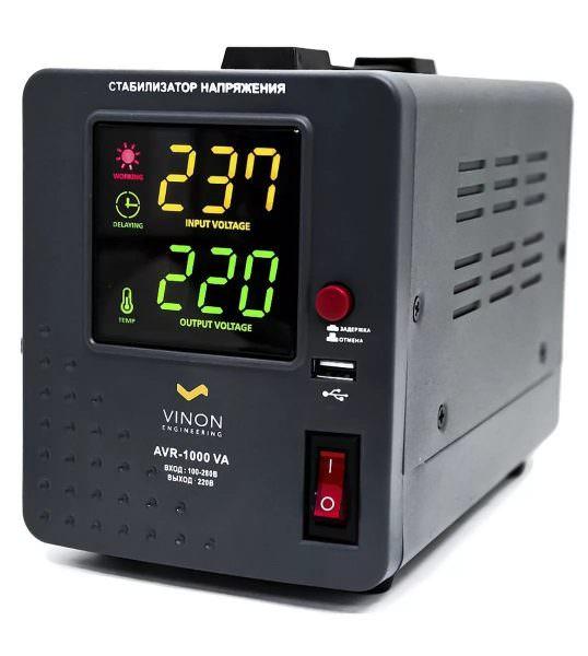 Содержит электронную плату, которая отвечает за контроль напряжения и управляет специальным мотором