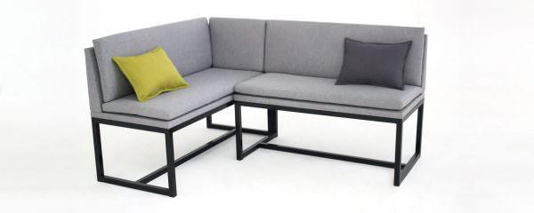 Удобный и стильный угловой диван на кухню