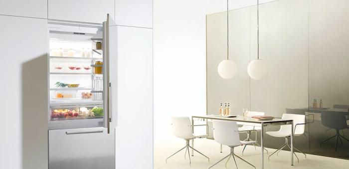 Кухня в стиле минимализм.
