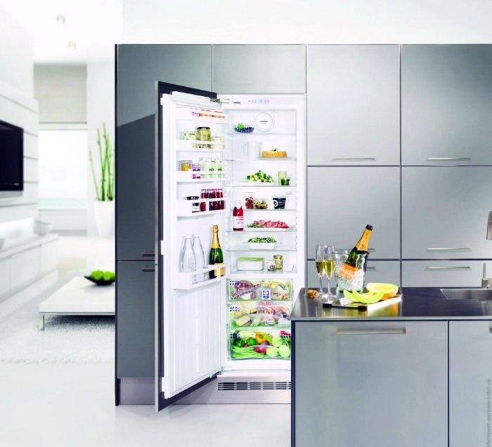Встроенный модель холодильника.