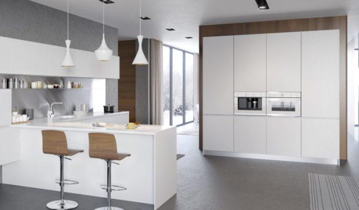 Как оформить кухню в стиле модерн.