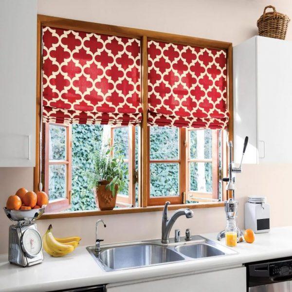 Занавески должны гармонично смотреться с типом мебели и другими элементами декора.