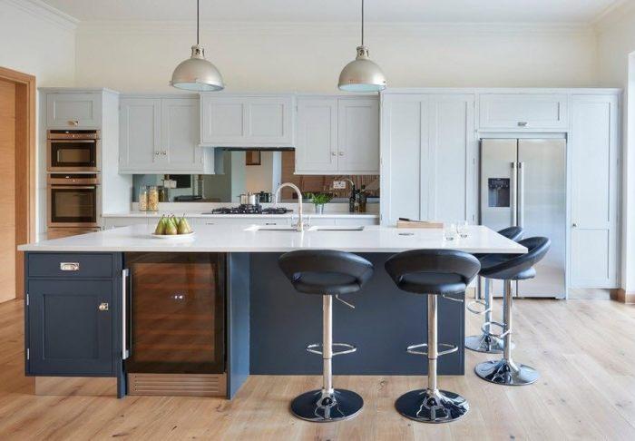 Интерьер большой кухни дизайн.
