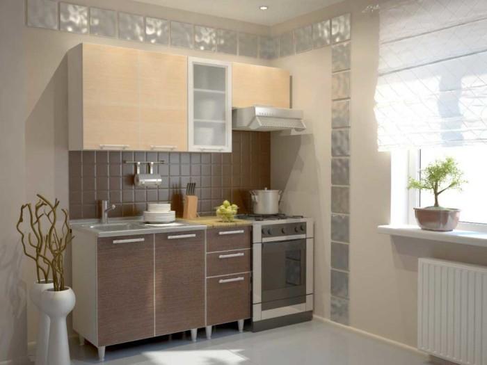 Советы по оформлению маленькой кухни.