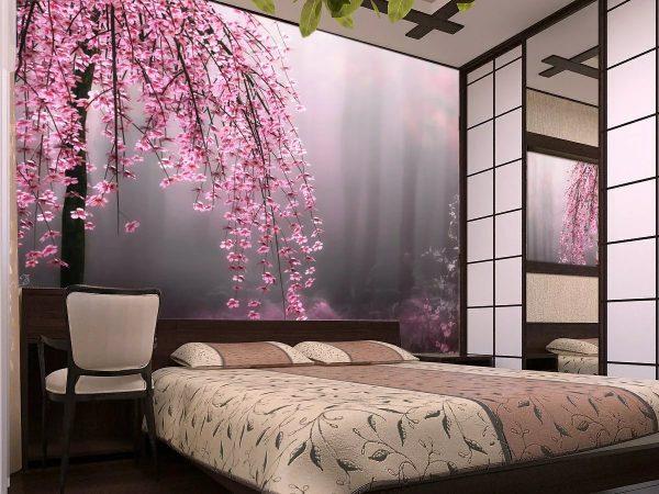Больше нет места классическим обоям в моде нестандартные цветовые решения, которые позволяют создать уникальный дизайн спальни.