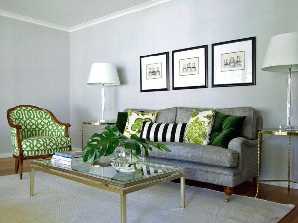 Использование разных оттенков зеленого – модный тренд этого года, который пришел из прошлого.