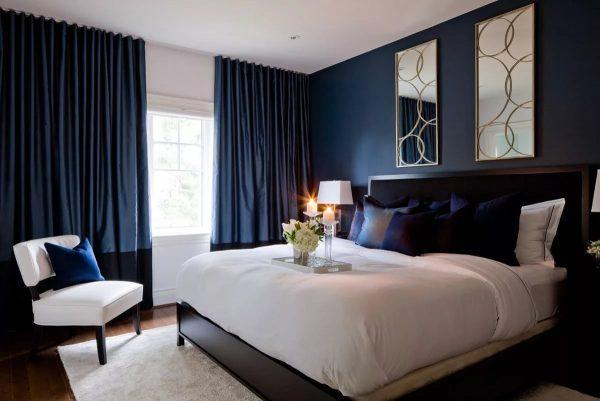 Шторы в пол способны не только стать красивым оформлением окна, но и визуально увеличить высоту комнаты.