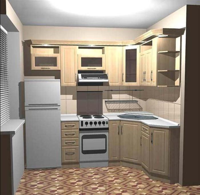 кухни с угловой планировкой.