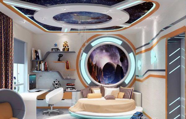 Космическая спальня на пике популярности в этом сезоне