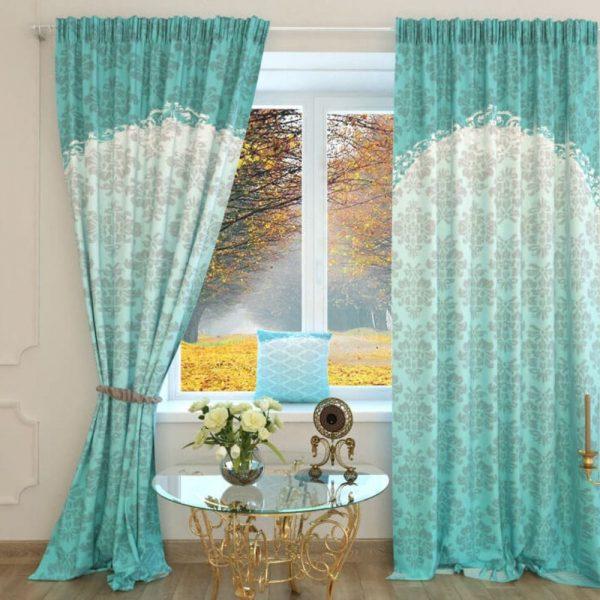 Выбирая шторы, учитывайте специфику комнаты, где они будут висеть