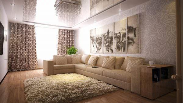 Чтобы сделать нежный дизайн в классическом, кантри или прованс стилях, дополните бежевые обои светлыми пастельными тонами. или рисунком