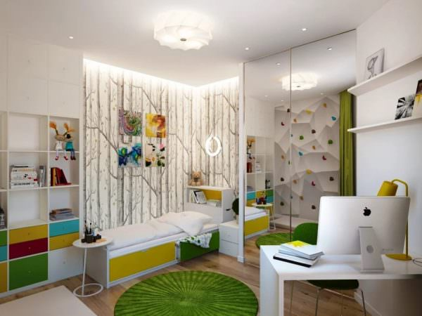 Актуальны минималистские интерьеры, когда в комнате остается много свободного пространства.