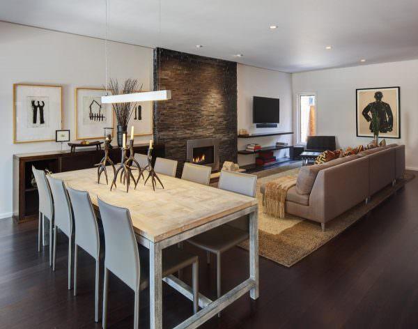 Дизайн гостиной в современном стиле 2019 во многом зависит от размеров помещения