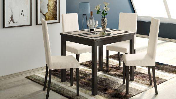 Раздвижные обеденные столы отличное решение, чтобы сэкономить пространство
