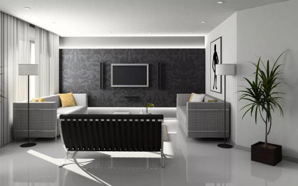 Правильно подобрав обои для зала можно создать хорошее впечатление и сформировать общий образ помещения.