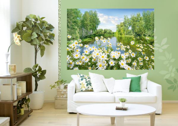 Цветочные могут быть совершенно разными — от милых ромашек до завораживающих орхидей и роз.