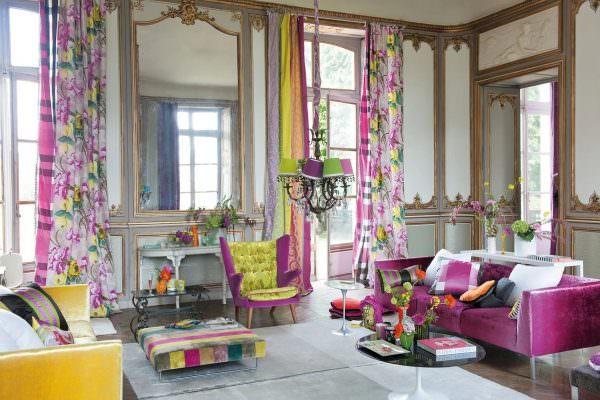Модные шторы сделают любой интерьер современным и дополнят даже самый простой дизайн.