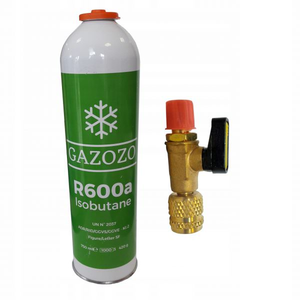 В современных холодильниках применяется хладагент: бутановое, пропановое, эфирное вещества, изобутан (R600a)