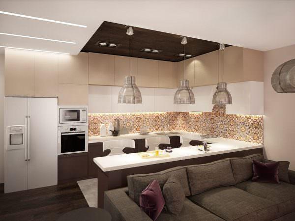 В нынешнем сезоне в дизайне интерьера главенствует эклектика: микс из нескольких стилистических направлений.